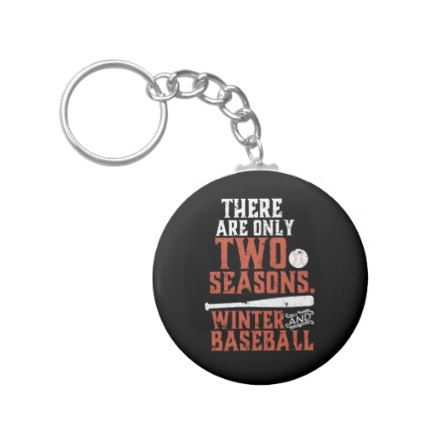 Grunge and Distressed Funny Baseball Quote Keychain - winter gifts style special unique gift ideas