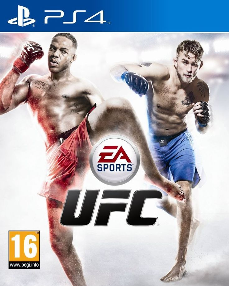 EA SPORTS UFC + FIFA 14 PS4 - PSN Digital game (includes Bruce Lee pack)