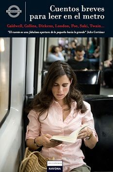 #Literatura: Cuentos breves para leer en el metro -  VV.AA. #Navona
