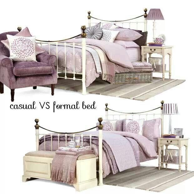 Mauve bedrooms