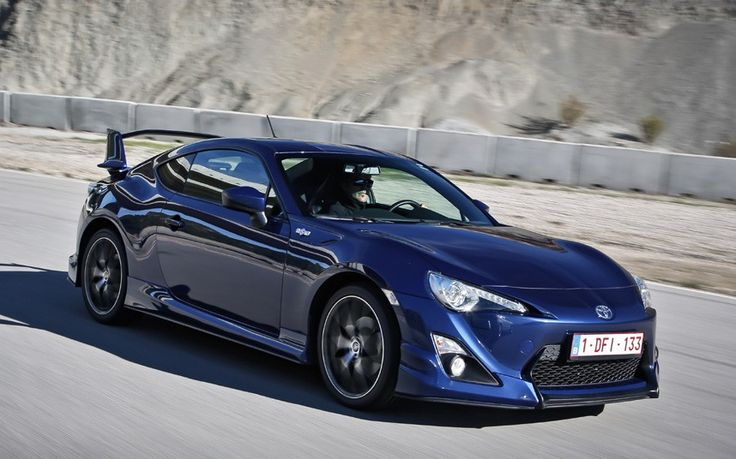 Toyota GT86 development car review  - Telegraph