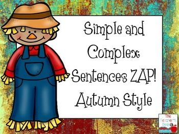 how to teach compound complex sentences in a fun way