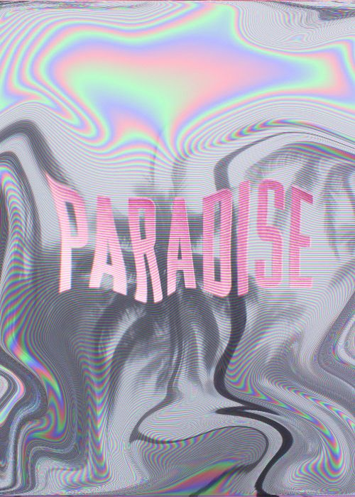 everytime i close my eyes, it's like a dark paradise.