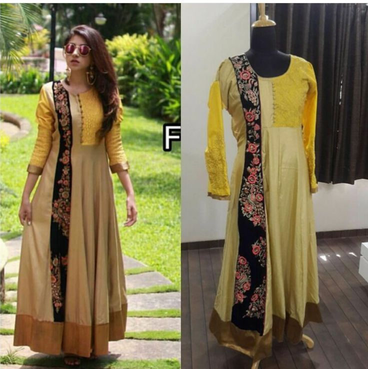 Checkout this Yellow Designer Anarkali Suit  FABRIC INFO : ✨ TOP - German silk + velvet border with heavy work ✨BOTTOM & INNER - rosy silk ✨semi stitch upto 42+ ✨READY TO SHIP  Sale Price : 2699 INR Only ! #Booknow  CASH ON DELIVERY Available In India !  World Wide Shipping ! ✈  For orders / enquiry  WhatsApp @ +91-9054562754 Or Inbox Us , Worldwide Shipping ! ✈  #ethnicwish #fashion #style #beauty #makeup #wedding #dress #outfit #saree #anarkali #lehenga #couture #d..