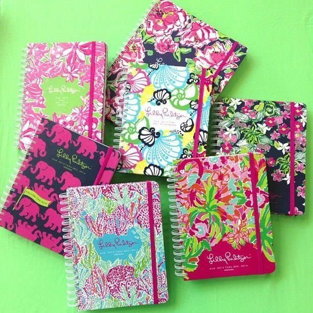 Lilly Pulitzer Agendas.. So cute monogrammed!