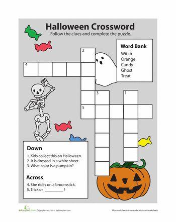 halloween letter game