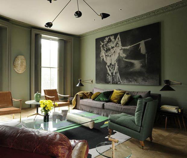 25 besten Tapeten Bilder auf Pinterest Tapeten, Rund ums haus - kunst fürs wohnzimmer