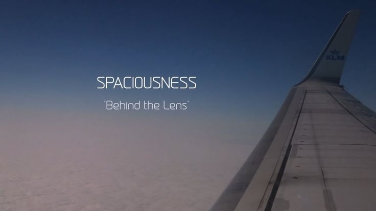 Spaciousness : Behind the Lens
