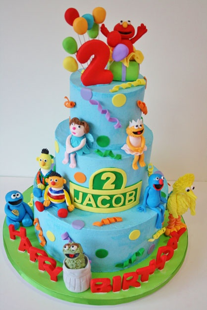 154 best Cakes The Muppet show Sesame Street images on Pinterest