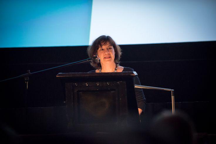 Eröffnung ZEBRA Poetry Film Festival Münster|Berlin, Dagmar Fretter, Kunststiftung NRW  #zebrapoetryfilm Foto: Thomas Mohn
