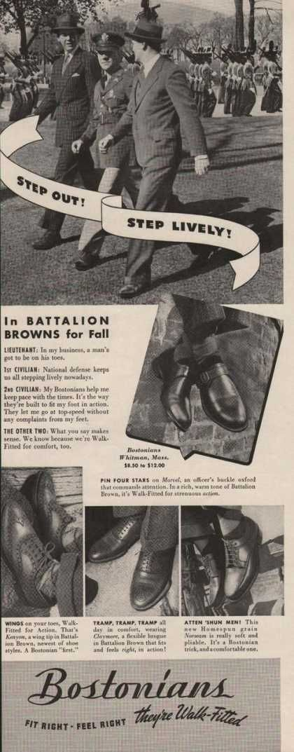 Bostonians Browns Shoes for Men (1941)