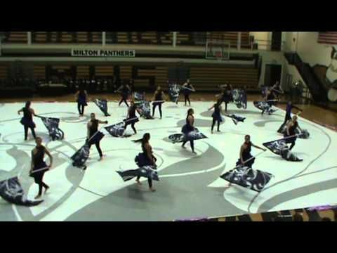 Milton High School Winterguard Mad World 2012 Spring Concert Performance at MHS - YouTube