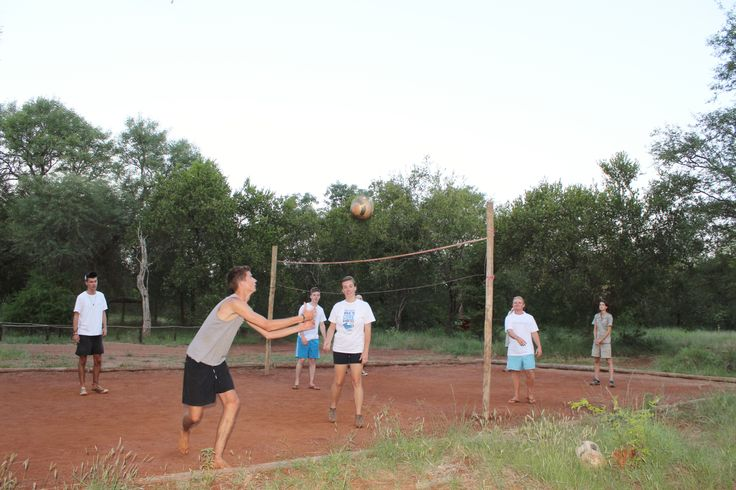 Volleyball at Bushwise