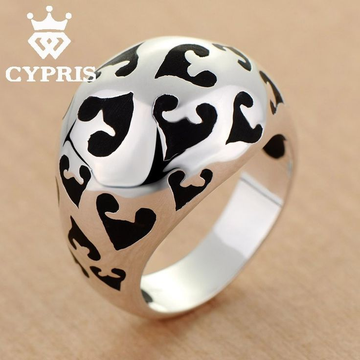 Wholesale Silver Ring Fashion Ring exaggerated Animal Print Ring Unique Hot Wholesale Price CYPRIS jewelry