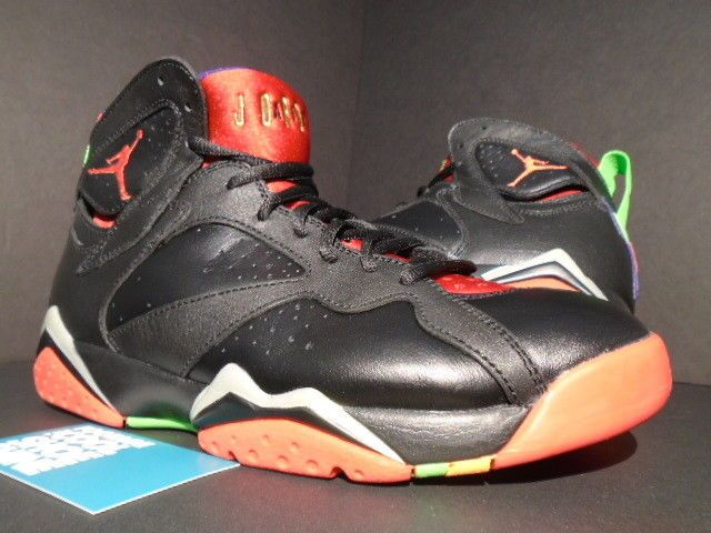 Nike Air Jordan Vii 7 Retro Marvin The Martian Black Red Green