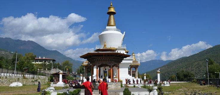 National Memorial chorten ( stupa) bulit in 1974