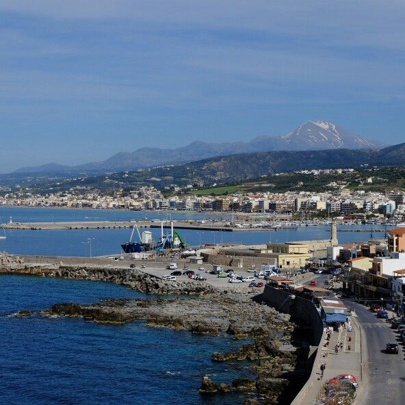 Rethymnon port