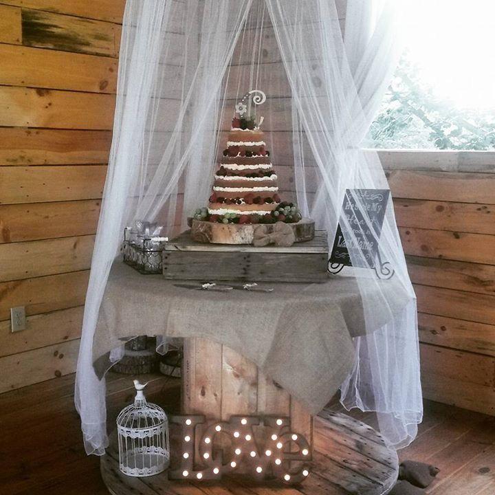 Outdoor Wedding Cake Ideas