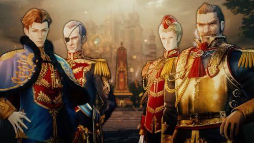 """Vídeo promocional del juego Valkyria: Azure Revolution con """"Los cuatro comandantes""""."""