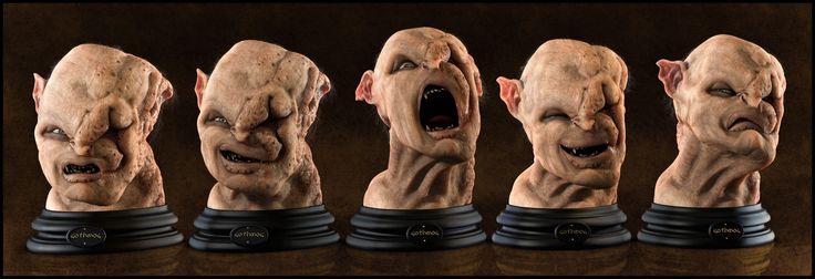 Gothmog Bust (Expressions Version) by Eder Carfagnini (2011)