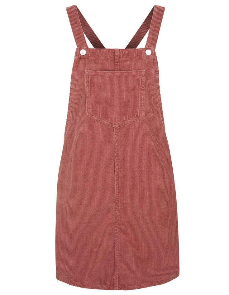 Robe salopette rose Topshop - 20 robes salopettes pour un look qui en jette - Elle