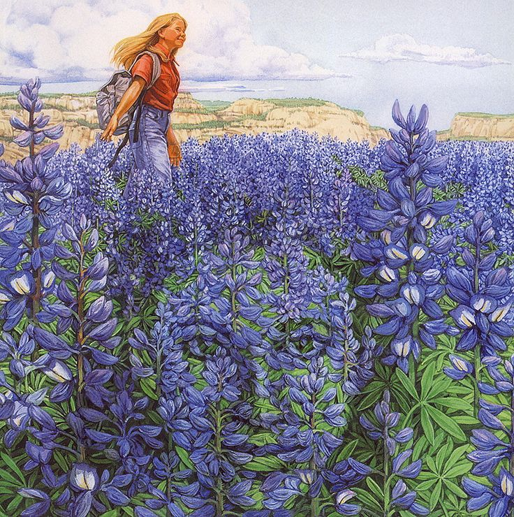 "Bev Doolittle ""BLUE MESA""  this is a book by Doolittle called ""The Earth is my Mother"""