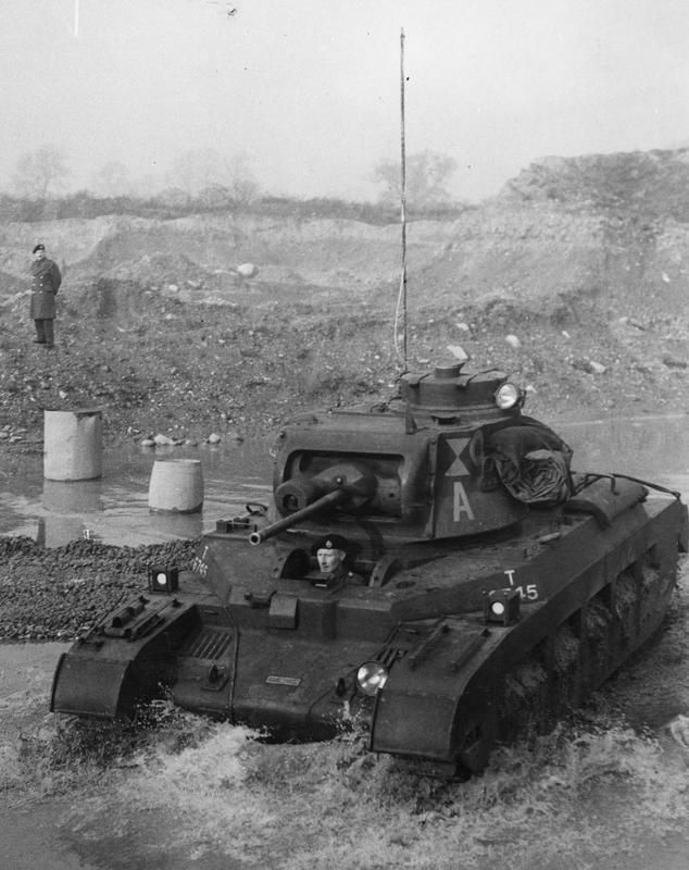THE INFANTRY TANK MK II (A12) MATILDA II / A Matilda tank during a demonstration in the UK, November 1940. © IWM (SG 13352)