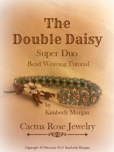 The Double Daisy Bracelet by kimberlym100006095537415 - Craftsy
