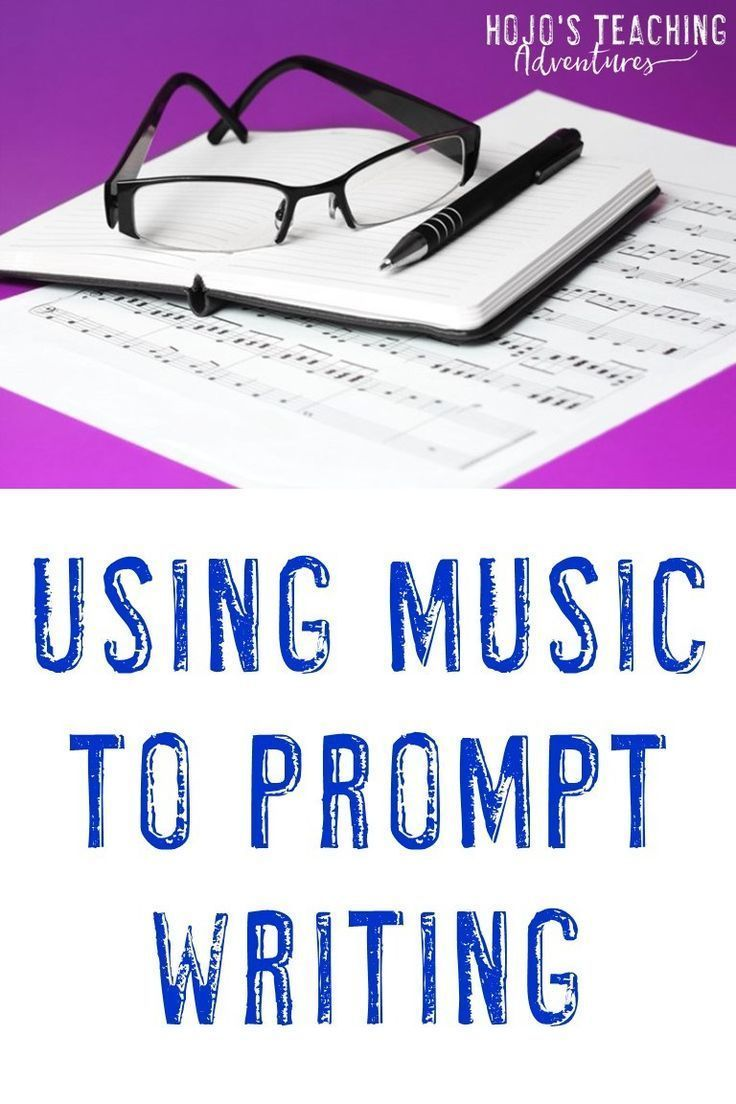 Using Music to Prompt Writing | Teaching Writing | Middle