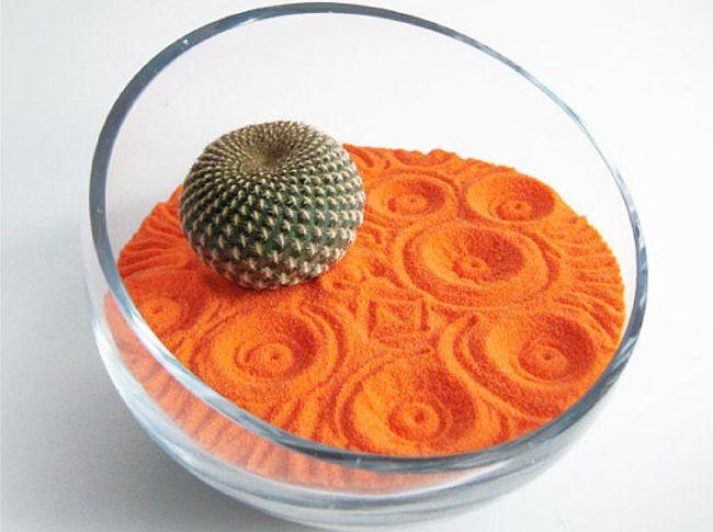 hazlo t mismo un jardn zen con un cctus y arena decorada
