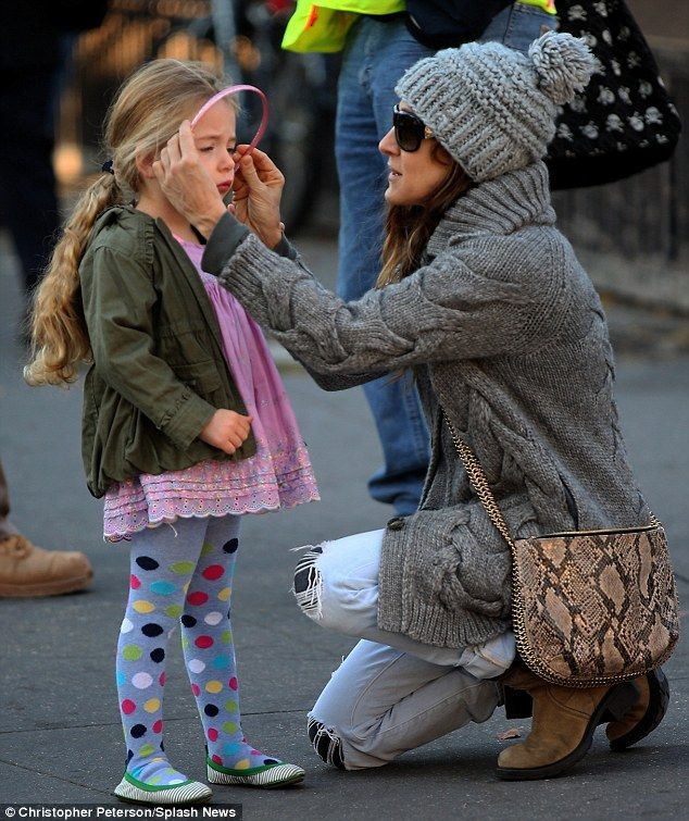 Show off your fashion prowess in an animal print bag like SJP #DailyMail