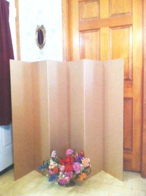 Best Divider Ideas DIY Images On Pinterest Diy Room - Diy cardboard room divider privacy screen