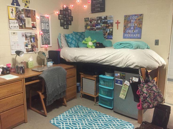 dorm room at the university of Saint Joseph