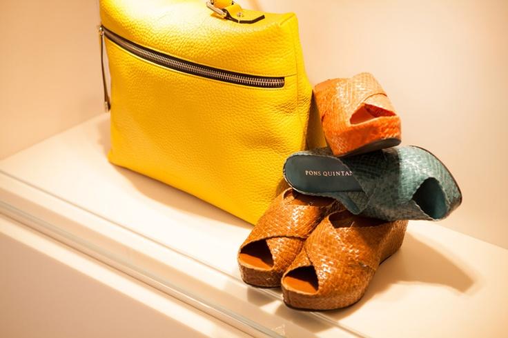 Evolution bags  #yellom #bags #moda #summer #leather #pelle #sun