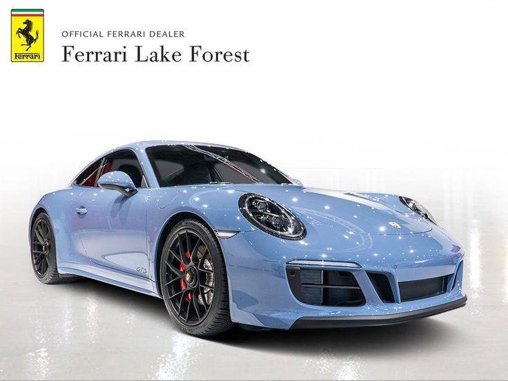 2019 Porsche 911 Carrera 4 GTS Air Conditioning, Climate Control, Dual Zone Clim…