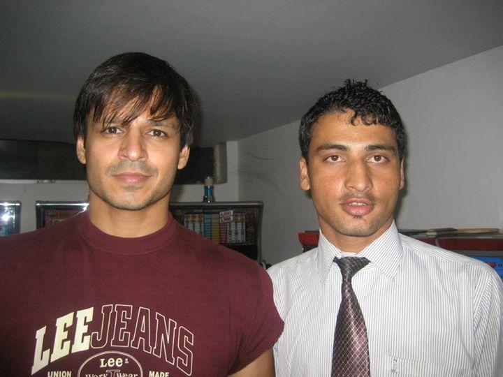 A #BollywoodStar Vivek Oberoy at Ravine Hotel..!