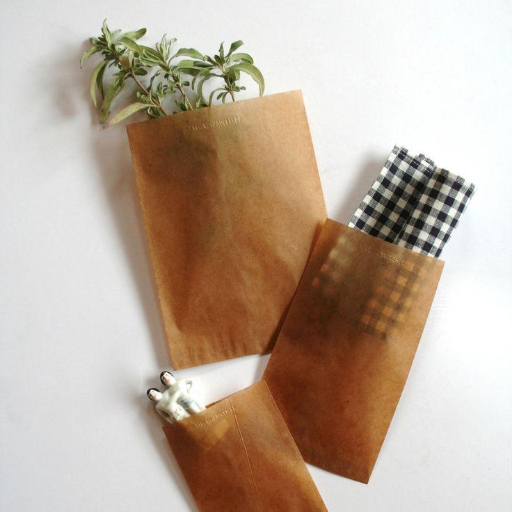 Wax Paper Sacks