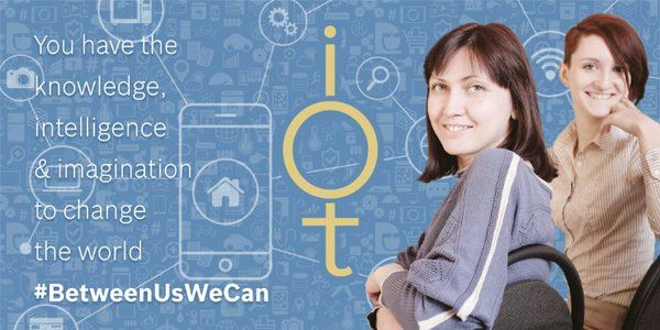 Bosch challenges female #engineers to think up new IoT applications http://ow.ly/ZKjSp  @BoschUK #BetweenUsWeCan
