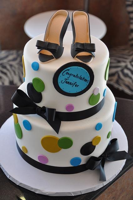 Elegant Wedding shower cake