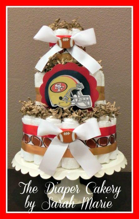 Baby Gift Baskets San Francisco : San francisco ers diaper cake sf