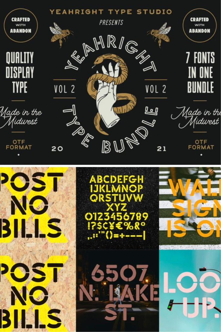 The Yeahright Type Bundle Vol 2
