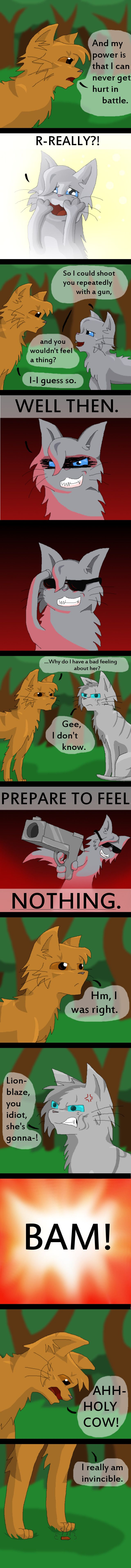 Warrior Cats- She's Crazy Dude (REAL) by whatchyagonnado.deviantart.com on @deviantART