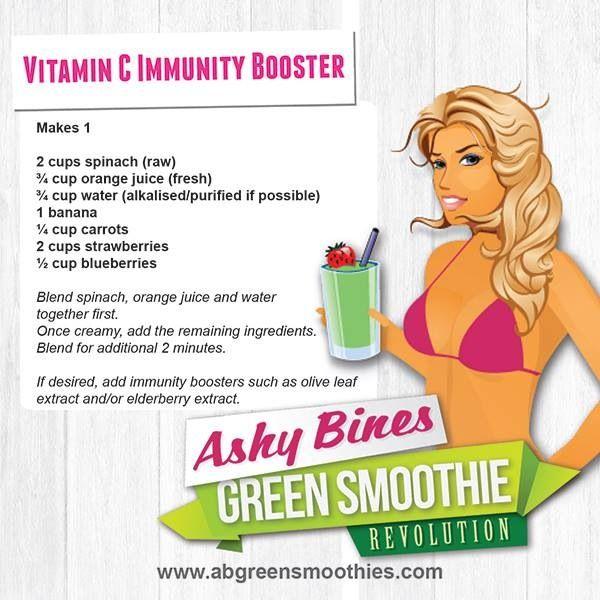 Ashy Bines vitamin C immunity booster