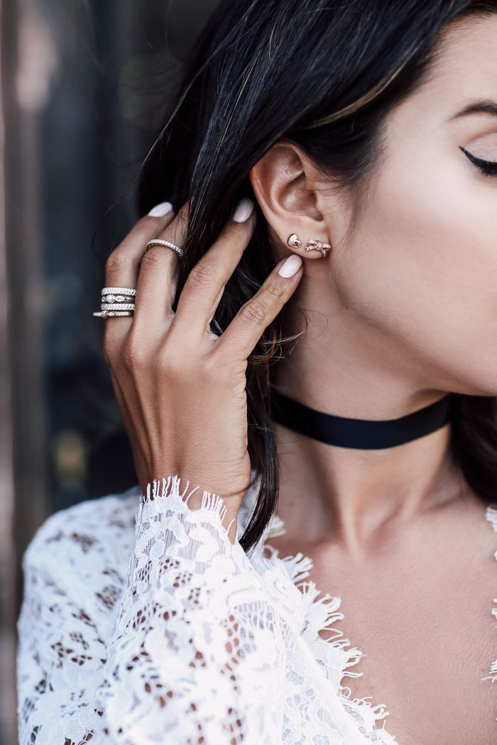 Lace And Velvet Choker Find This Pin More On Pandora By Redcatastrophe Rose Gold Heart Bow Earrings
