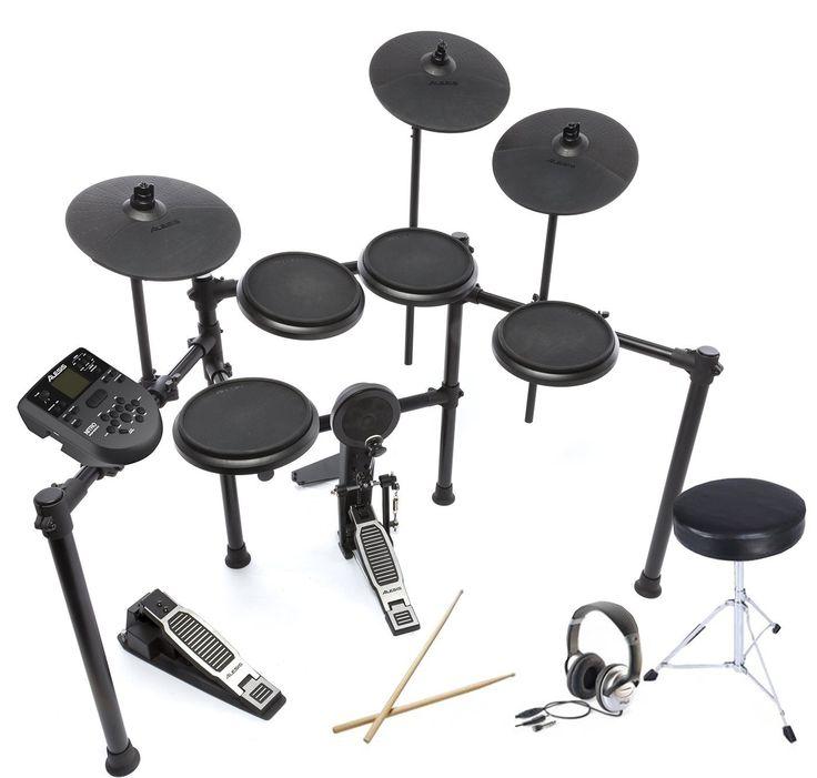 Alesis DM Nitro Digital Drum Kit   Bundle: Amazon.co.uk: Musical Instruments