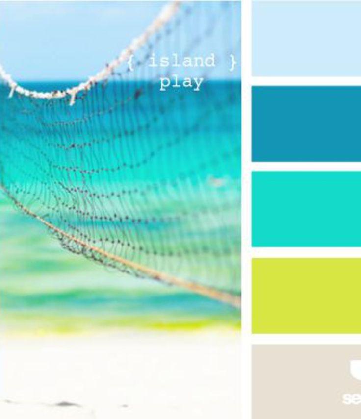 1389 best images about color blends on pinterest color for Tropical paint colors