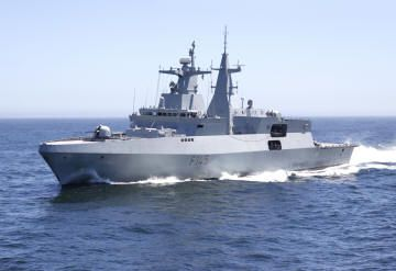 F145 - Valour class frigates of the South African Navy