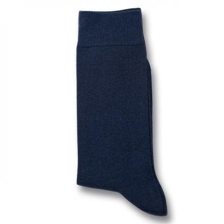 Democratique Socks Originals Solid Navy Blue  Free Worldwide Shipping  - buy 4 socks or more.