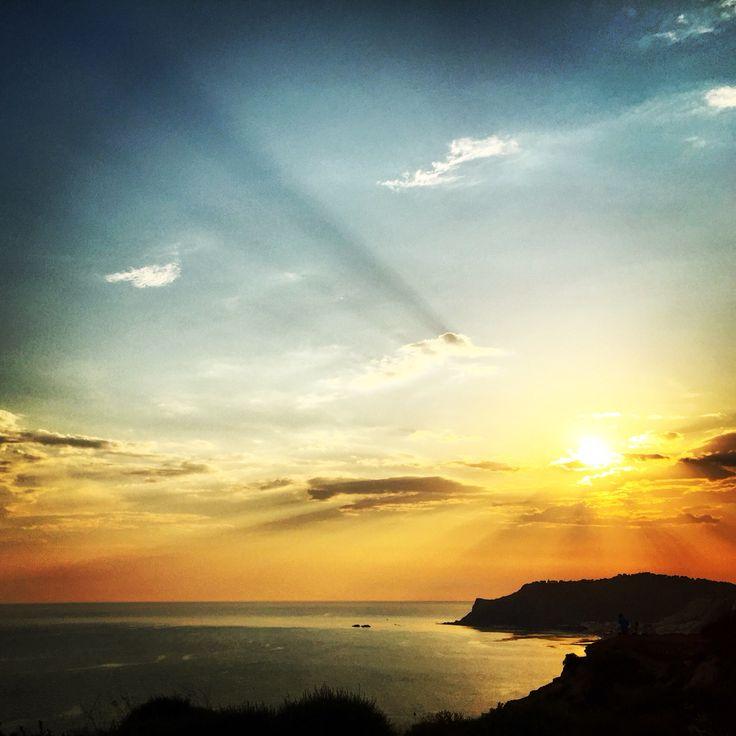 #sicily #summer #sunset #northafrica