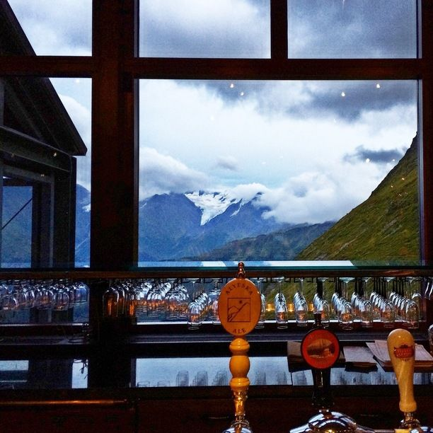 Seven Glaciers Restaurant, Anchorage, Alaska — by Kathryn Reichert. Seven Glaciers restaurant sits at over 2,000 ft elevation in the mountains towering behind Alyeska Resort. It has a...